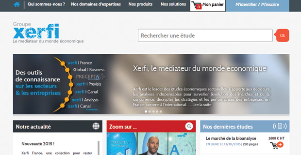 Site Internet de Xerfi