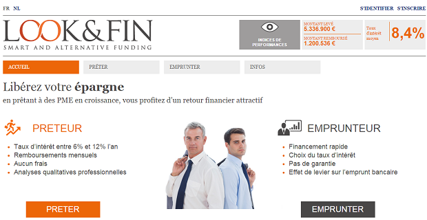 Capture du site Internet  Look&Fin