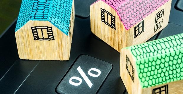 les taux de cr dit immobilier restent abordables. Black Bedroom Furniture Sets. Home Design Ideas