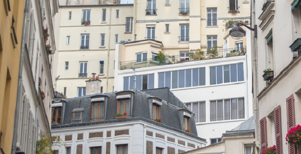Façades appartements Paris