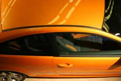 Automobile orange